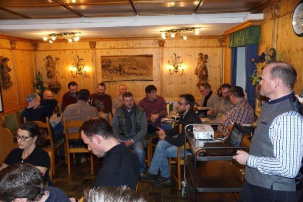 Kurzbericht über den Stammtisch des Regionalteams Oberfranken vom 12.01.2018