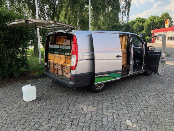 Anlieferung Belegstelle Leyhörn