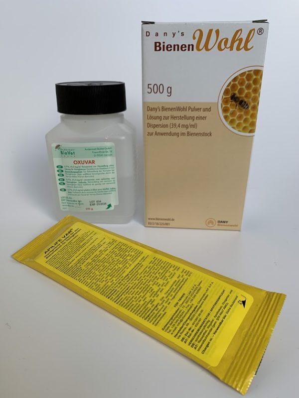 Restmenge Bienenbehandlungsmittel